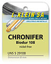 Chronifer 108 nickelfrei neue produkte